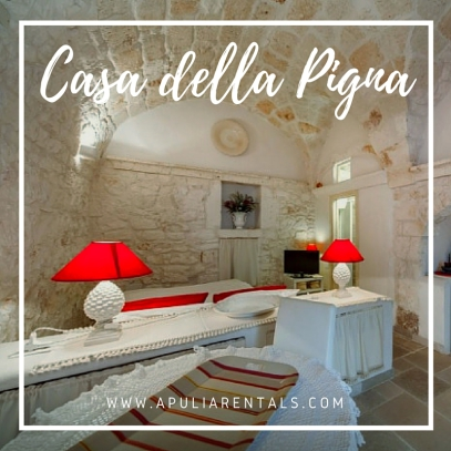 apulian stone houses for rent