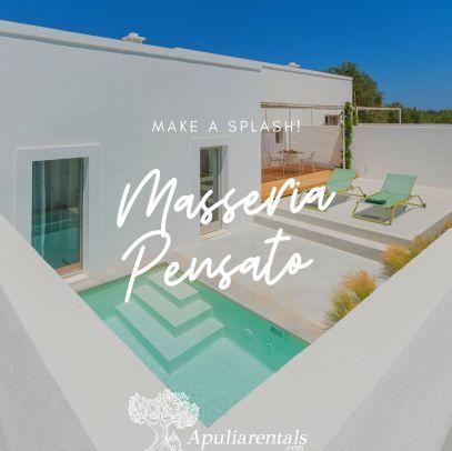 Masseria for rent in Puglia